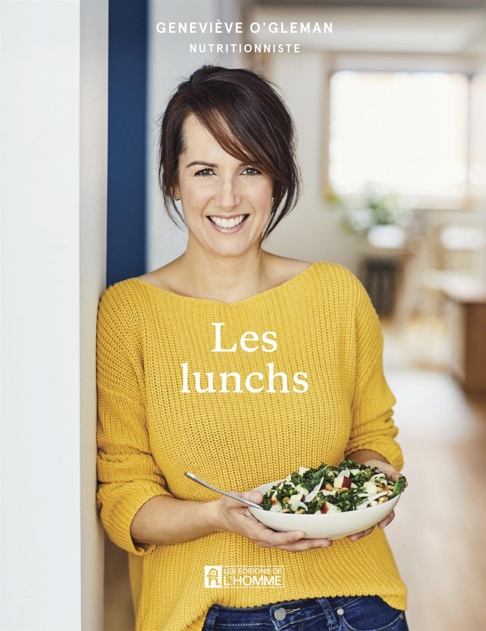 Geneviève O'Gleman annonce la sortie d'un nouveau livre de recettes