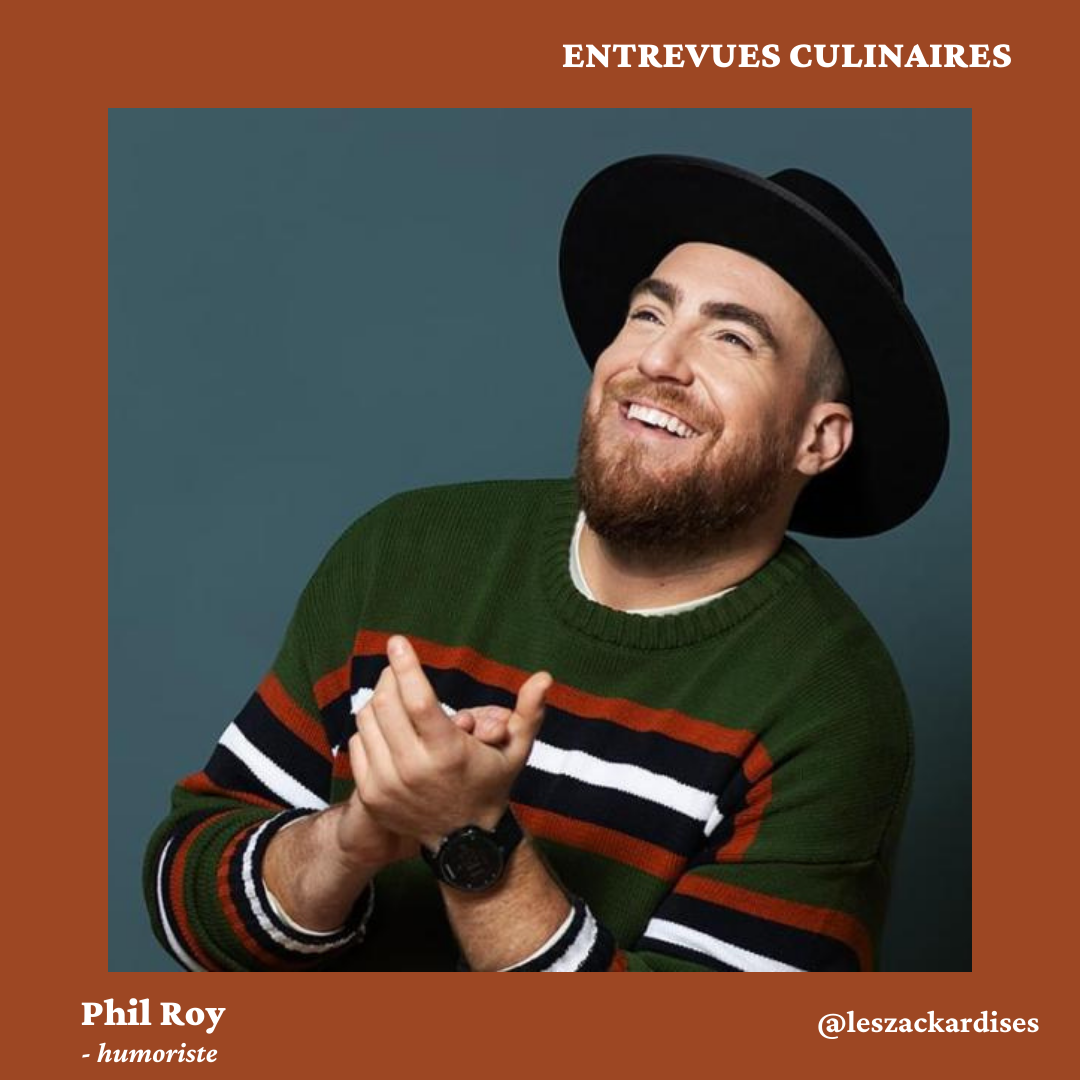 Entrevues culinaires: Phil Roy