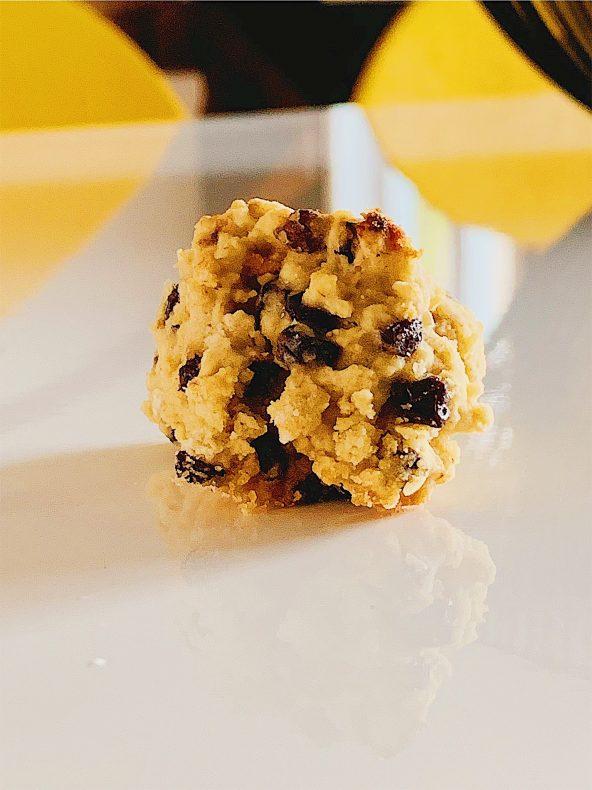 Biscuits sans gluten à l'avoine et aux raisins de Corinthe