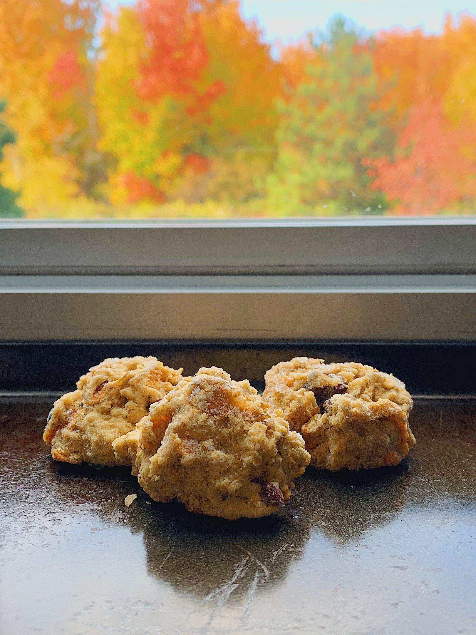 Biscuits aux carottes et pacanes