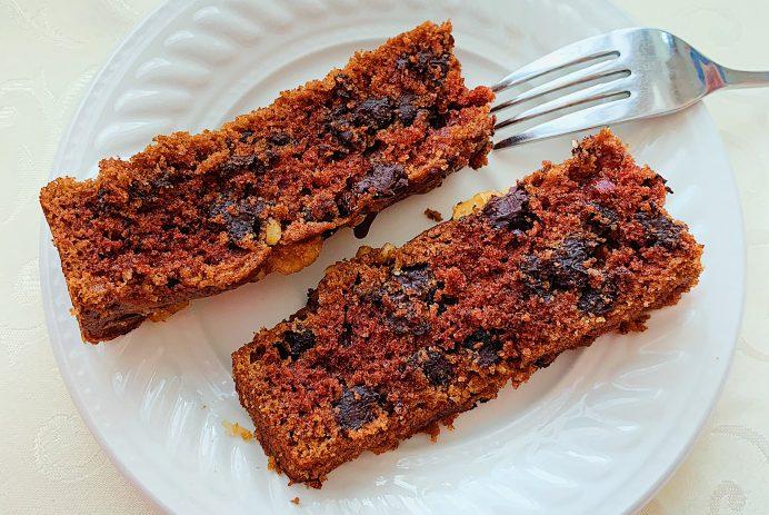 Gâteau aux deux chocolats et pacanes