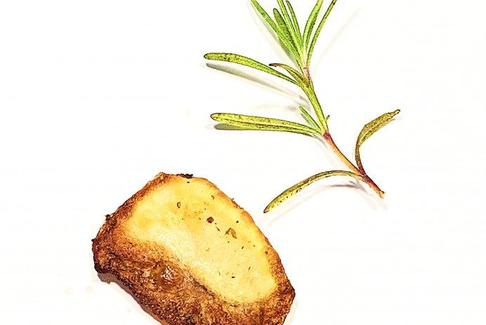 Patates façon Grec au citron