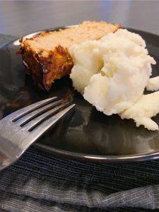 Pain de viande au porc et pommes