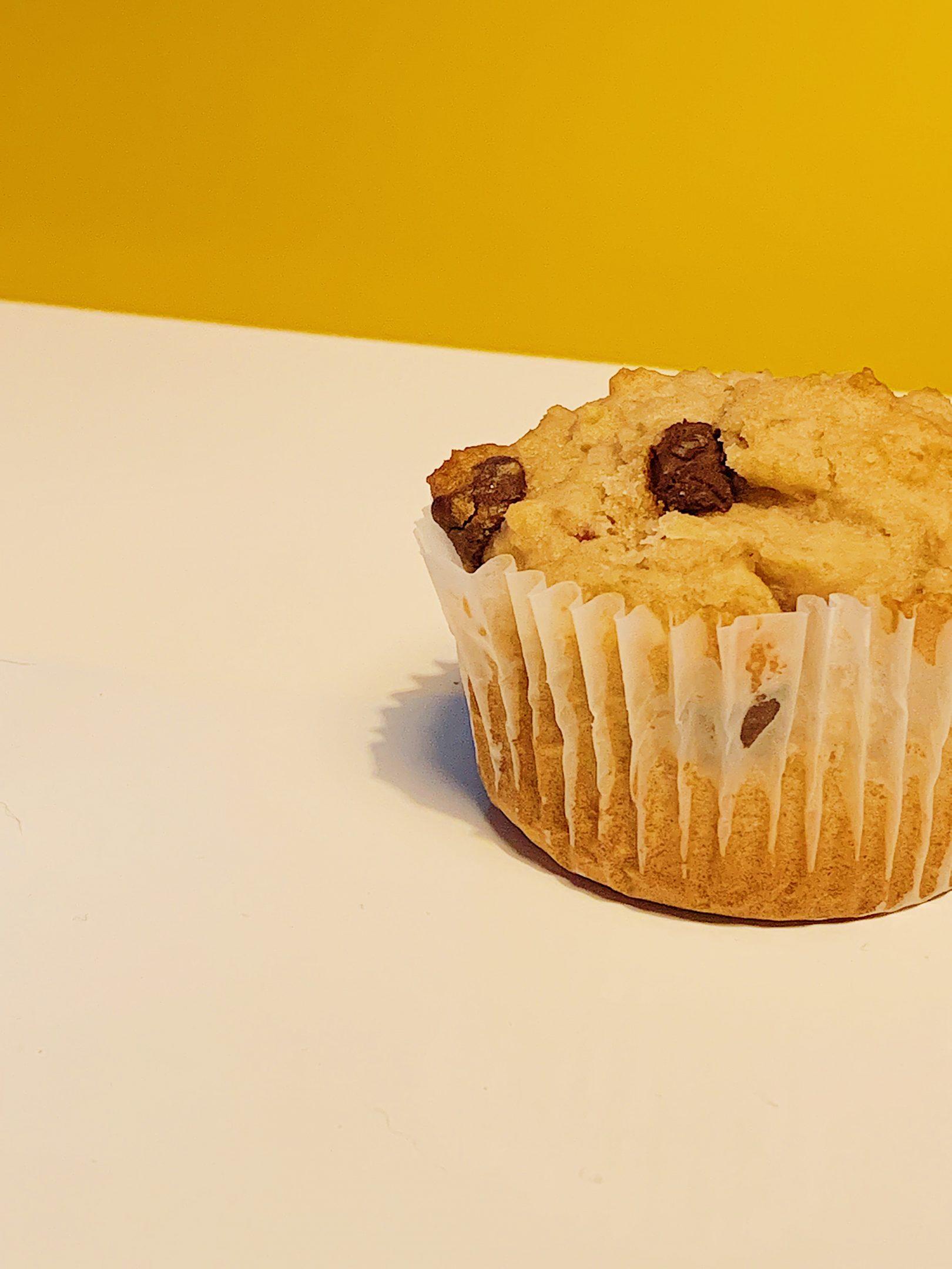 Muffins aux fraises et chocolat