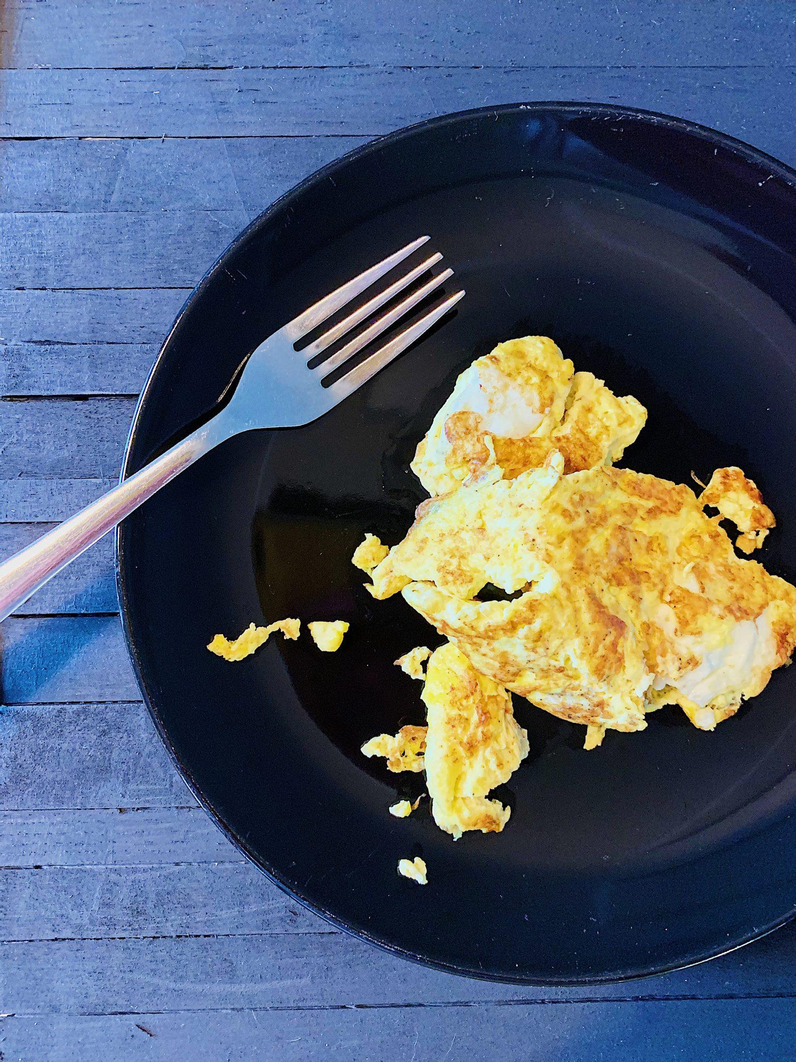 Omelette sans lait