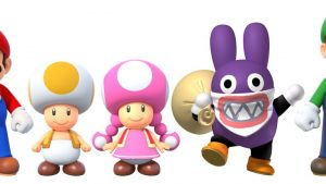 Personnages Mario U Deluxe