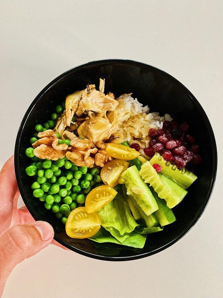 Poke Bowl au poulet / Chicken Poke Bowl