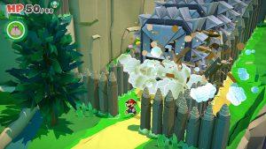 Montagne Paper Mario