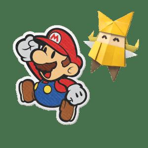 Paper Mario et Olivia