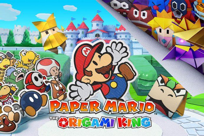 Découvrez Paper Mario: The Origami King sur Nintendo Switch!