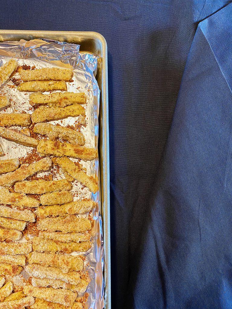 Bâtonnets de tofu croustillants épicés