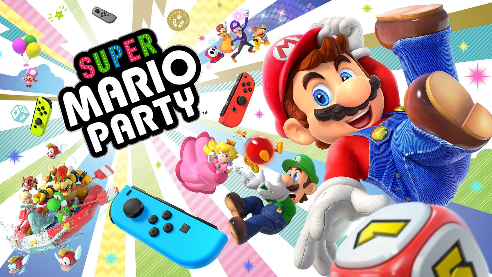 Découvrez New Super Mario Party sur Nintendo Switch!