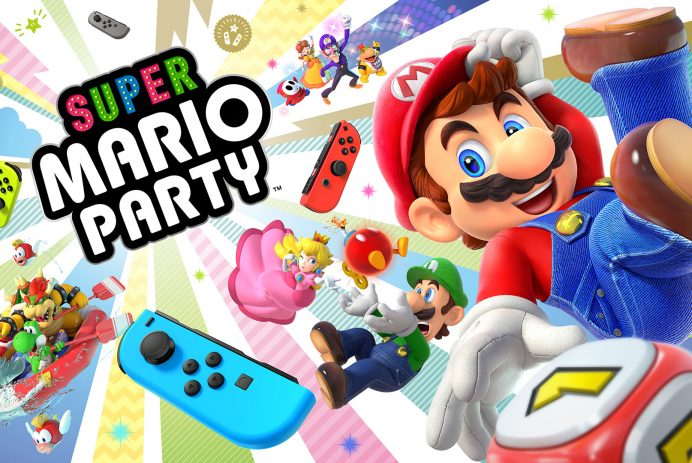 Découvrez New Super Mario Party sur Nintendo Switch!