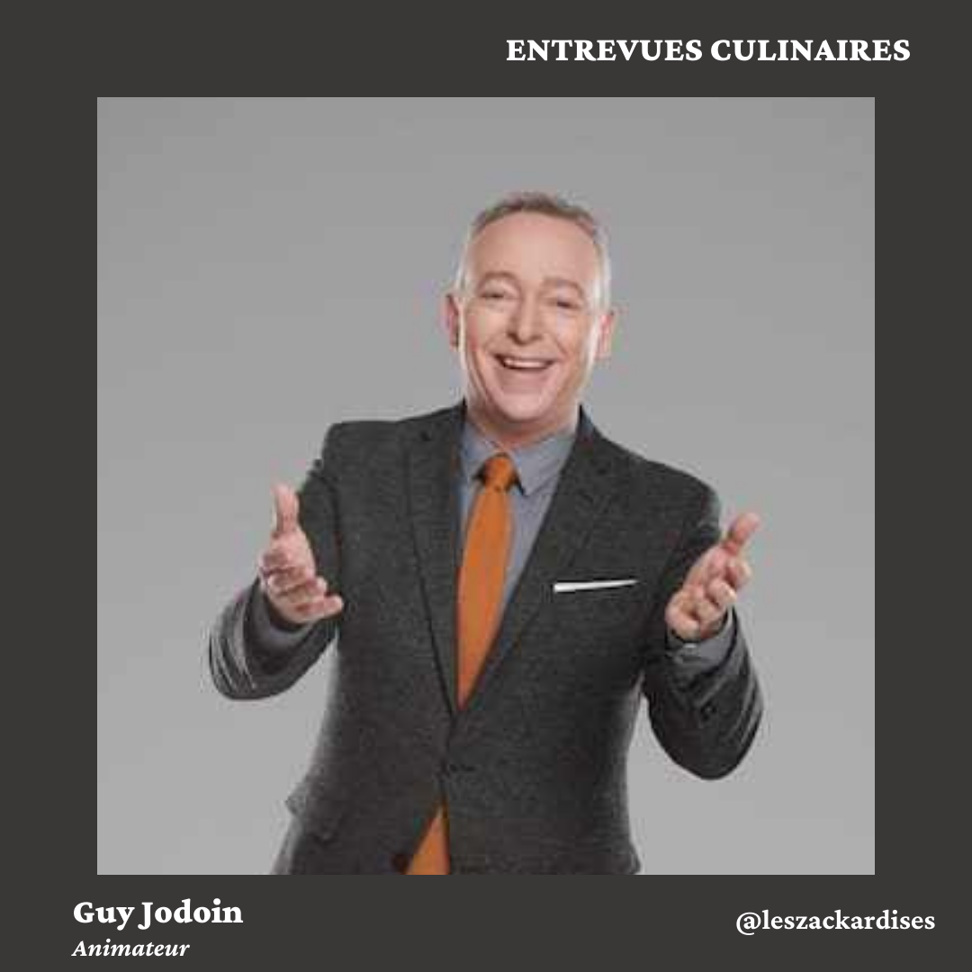 Entrevues culinaires: Guy Jodoin