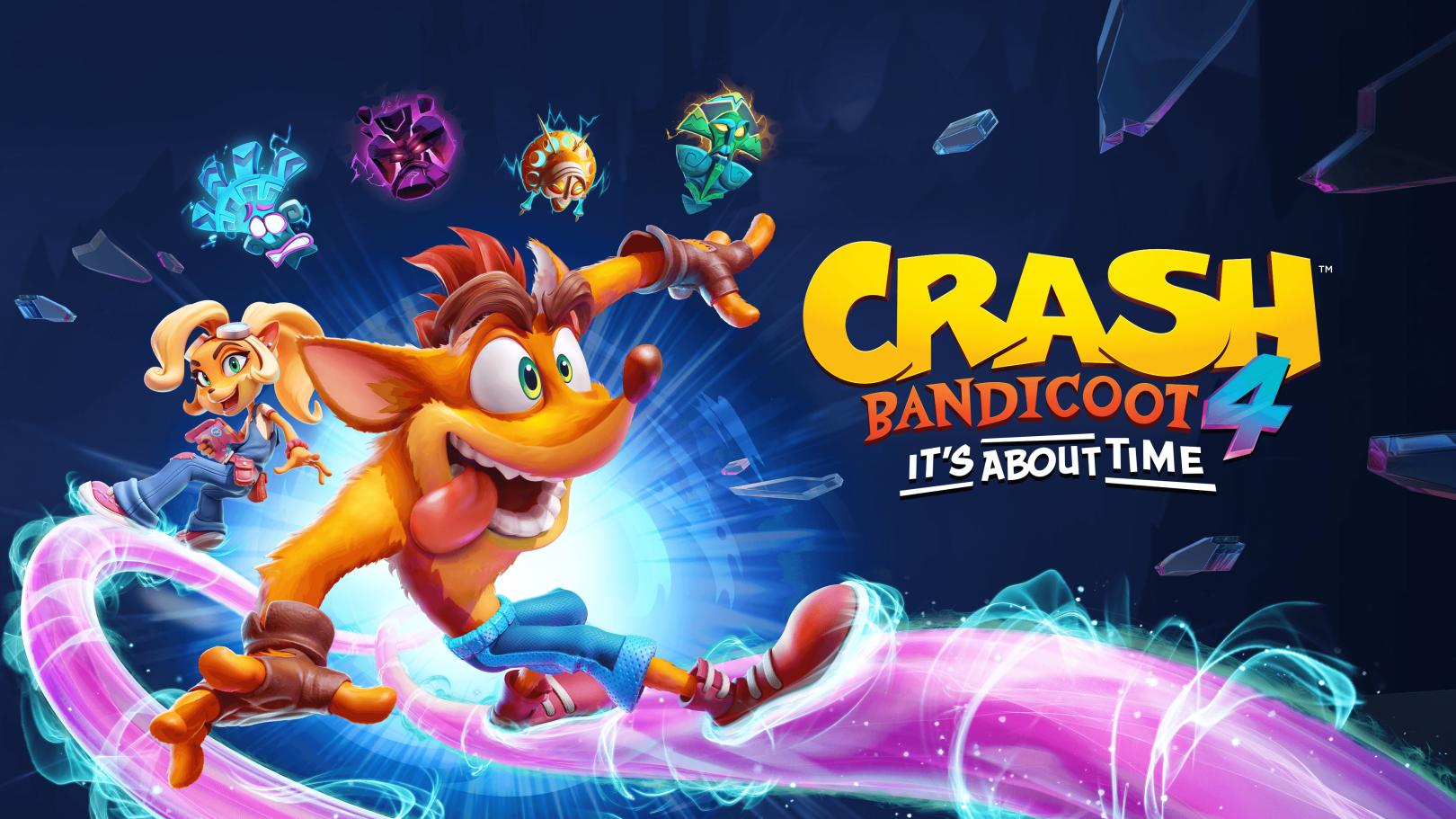 Découvrez Crash Bandicoot 4: It's About Time sur PS4 et Xbox One!