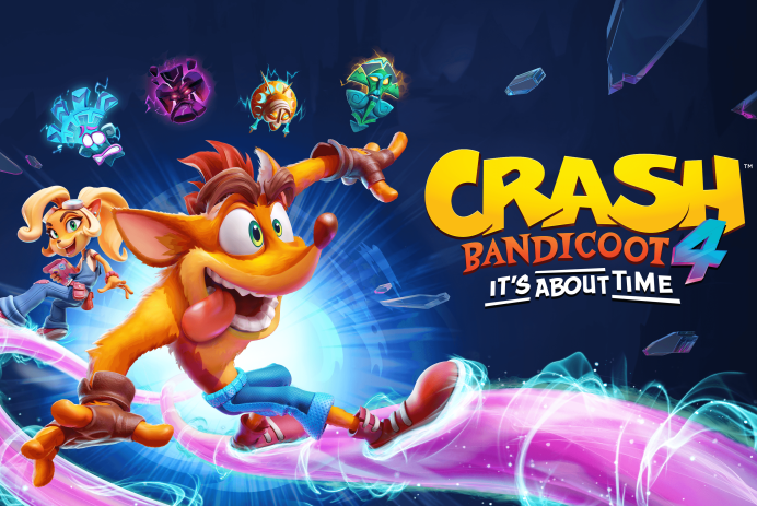 Découvrez Crash Bandicoot 4: It's About Time sur PS4 et Xbox One!