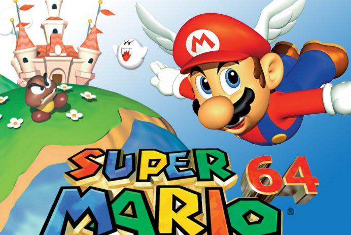 Découvrez Super Mario 64 sur Nintendo 64 et Switch!