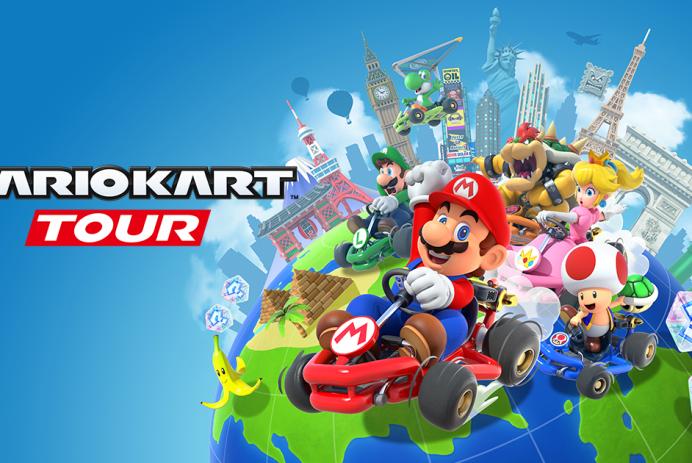 Découvrez Mario Kart Tour sur iOS et Android!
