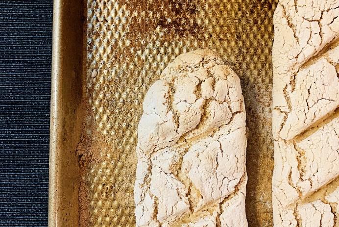 Pain baguette sans gluten