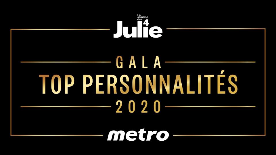 Gala Top Personnalités Métro