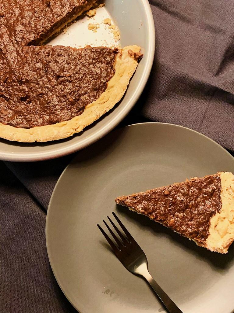 Tarte au chocolat sans gluten et sans produits laitiers