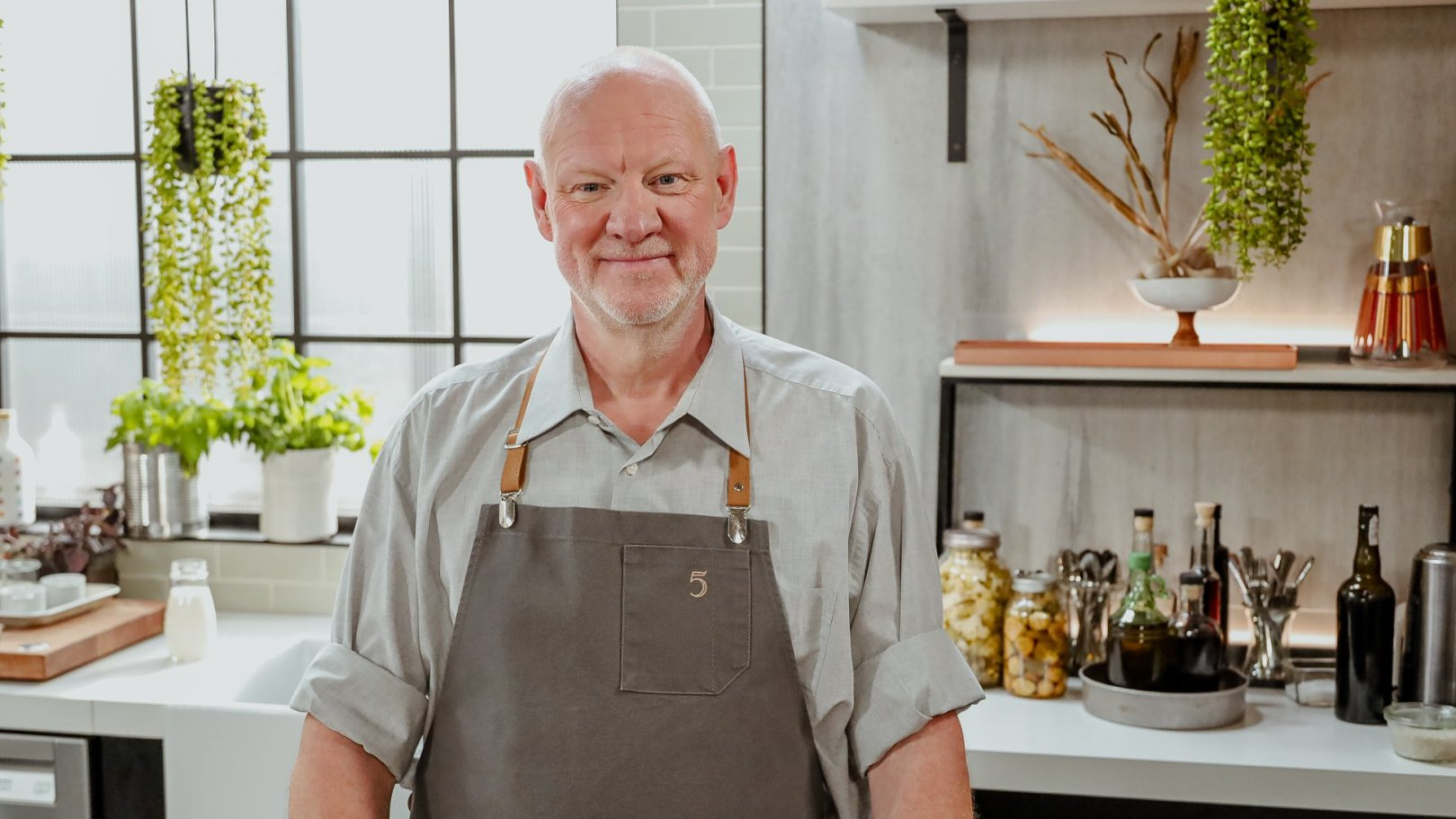 5 chefs dans ma cuisine (Marc de Cranck)