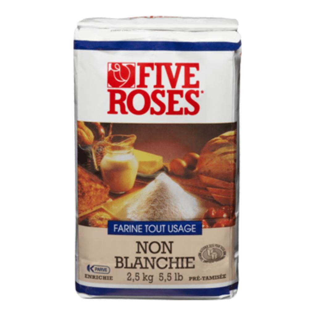Farine Five Rose non blanchie