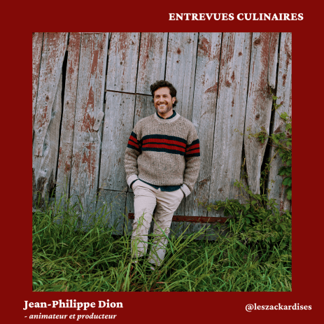 Entrevues culinaires: Jean-Philippe Dion
