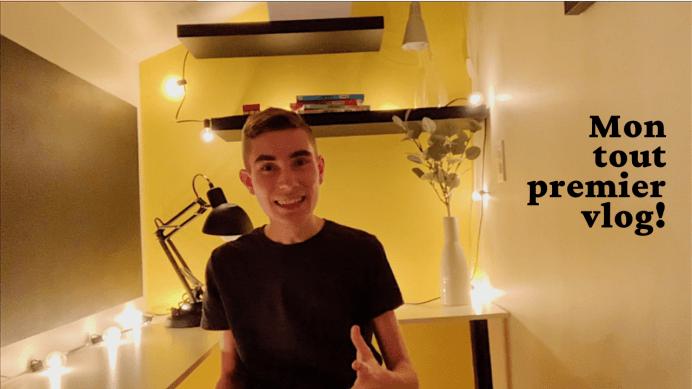 Mon tout premier vlog!
