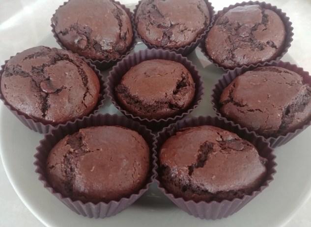 Muffins aux courgettes et chocolat
