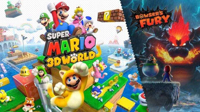 Découvrez Super Mario 3D World + Bowser's Fury sur Nintendo Switch!