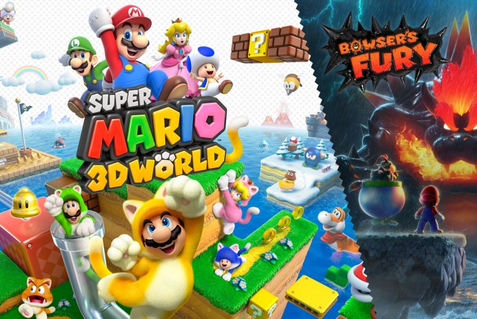 Découvrez Super Mario 3D World + Bowser's Fury sur Nintendo Switch!