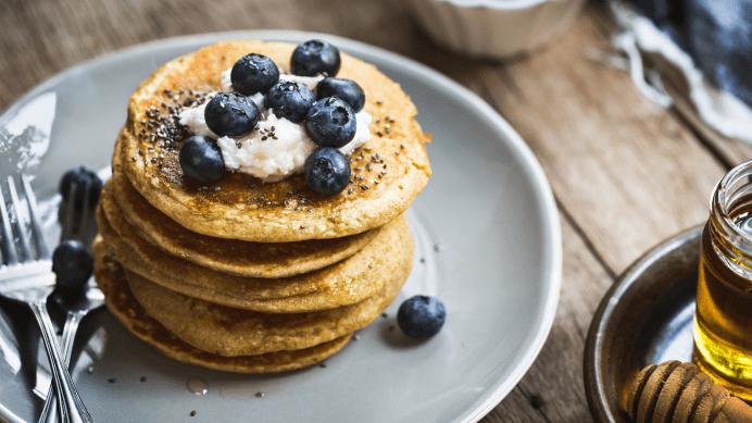Pancakes de base