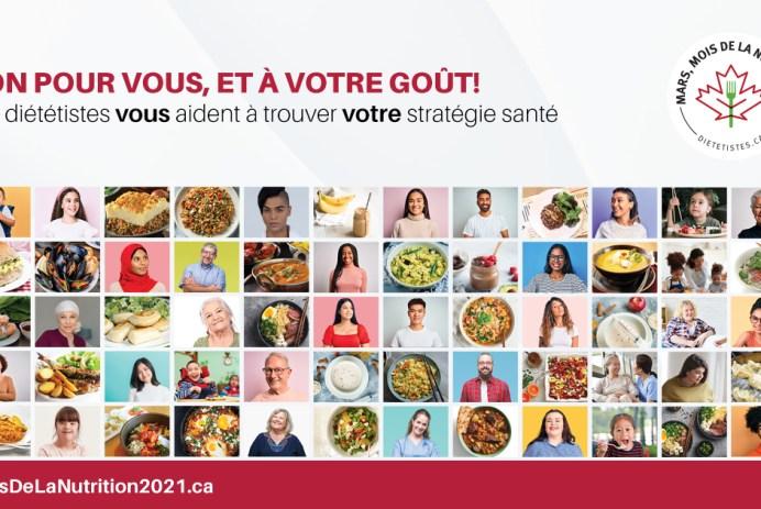 Mois de la nutrition 2021