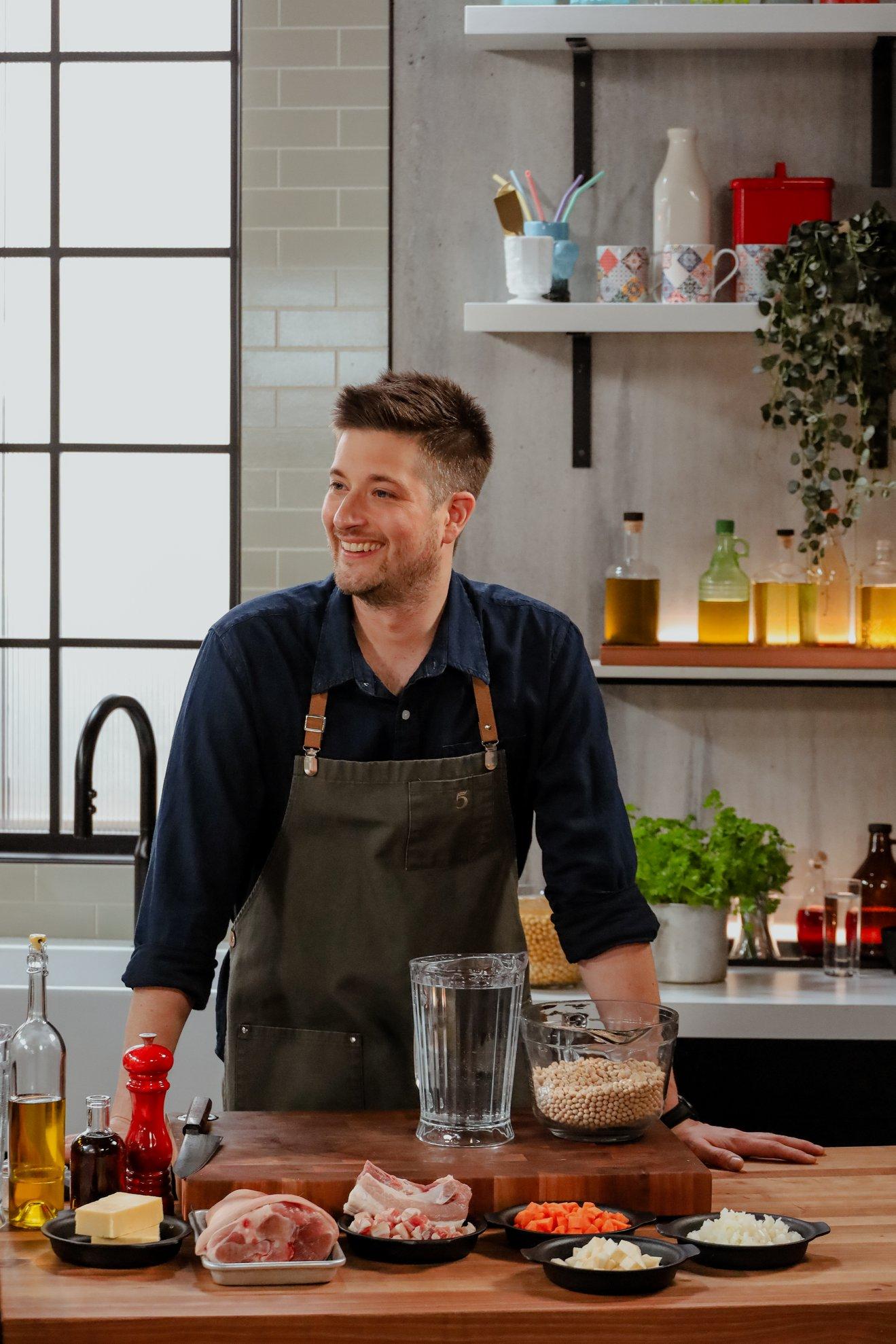 5 chefs dans ma cuisine (Vincent Dion Lavallée)