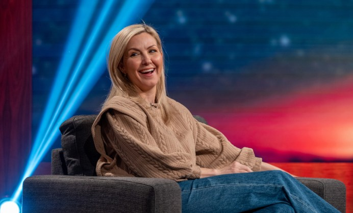 Pour marquer le retour de la série, Véronique Cloutier lance la 4e saison du talk-show Les Poilus