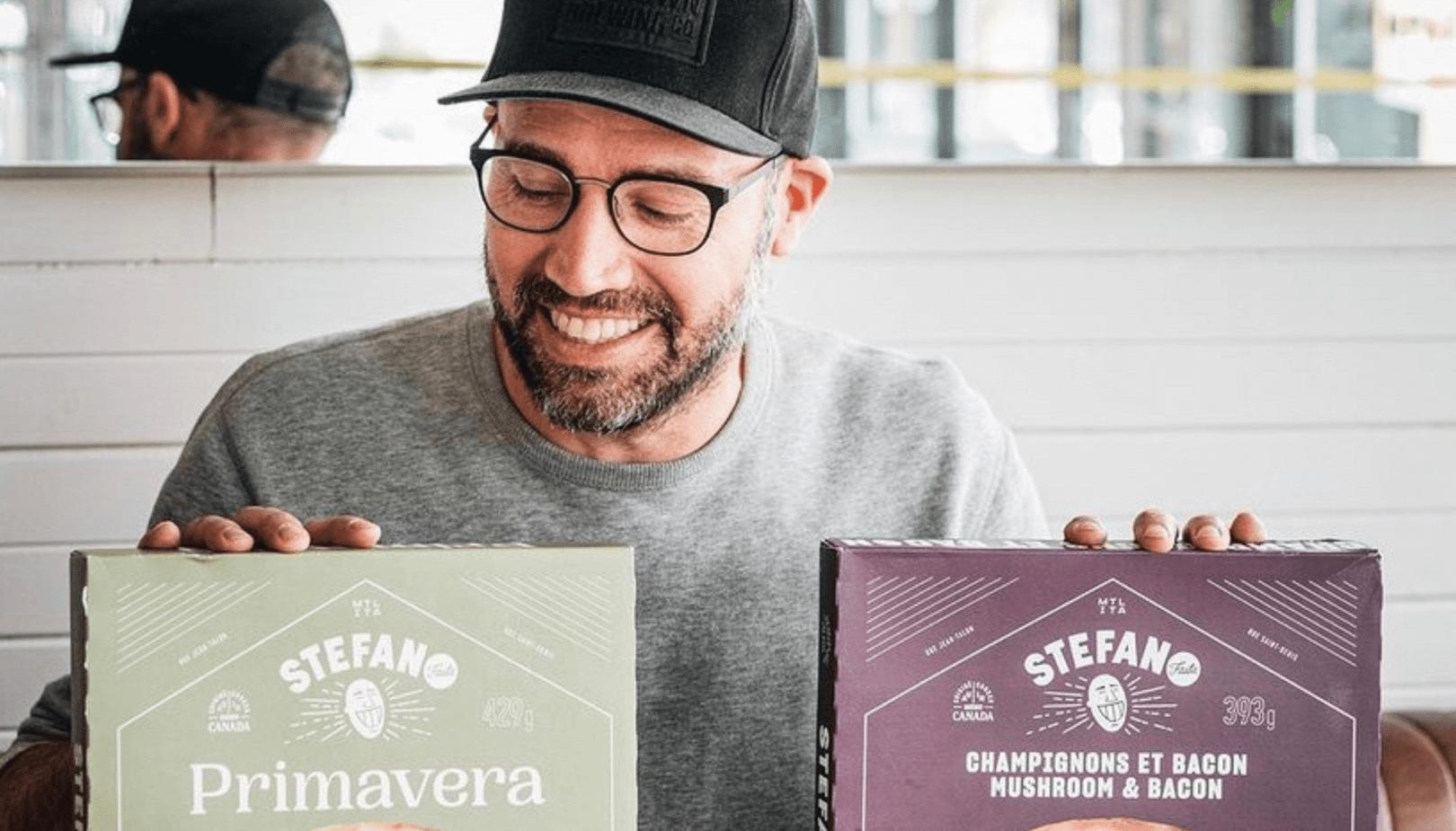 Stefano Faita lance deux nouvelles pizzas surgelées