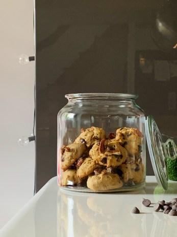 Biscuits à l'avocat et chocolat