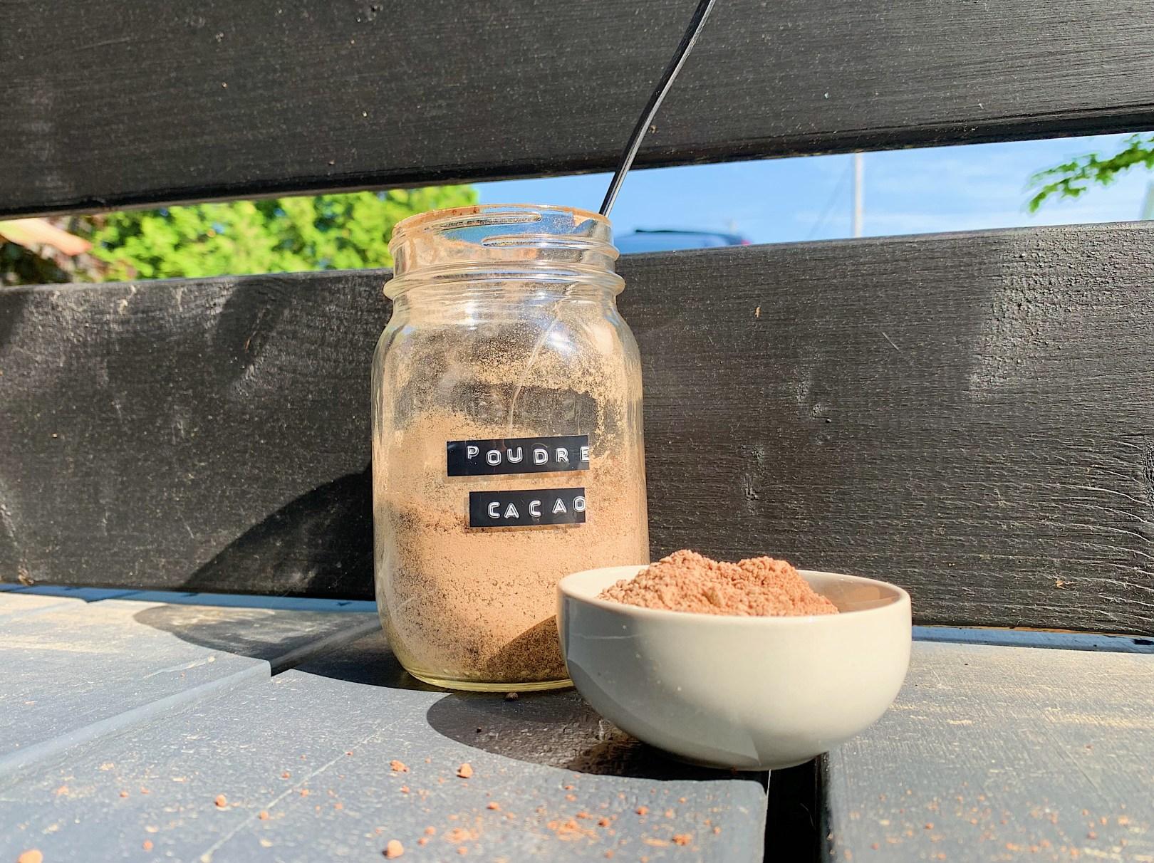 Poudre de cacao maison