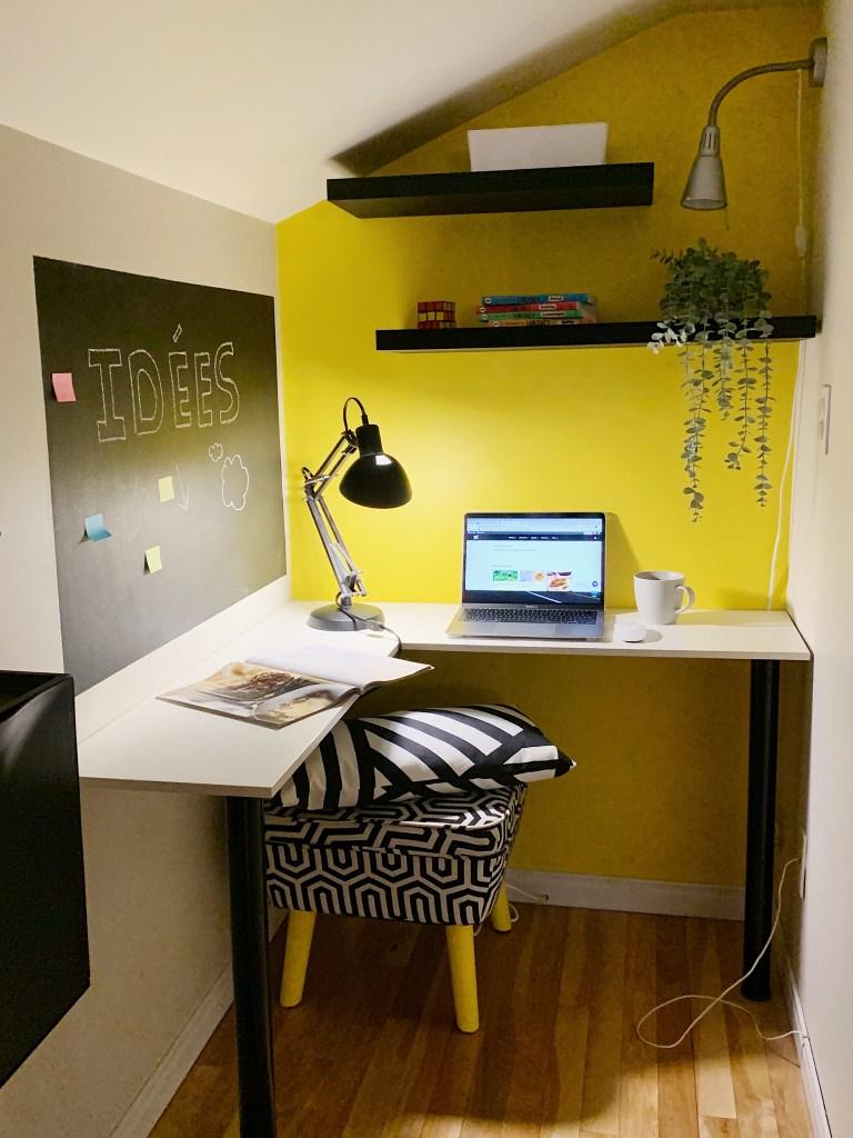 6 solutions à faible coût pour l'aménagement d'un bureau à la maison
