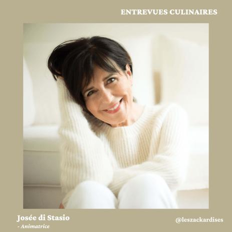 Entrevues culinaires: Josée di Stasio