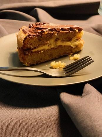 Gâteau Boston sans produits laitiers