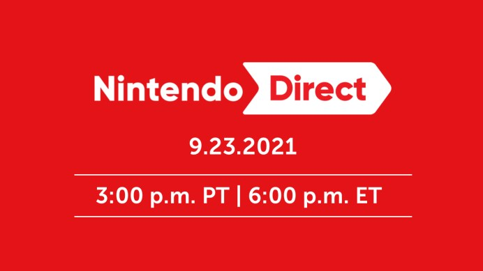 Nintendo Direct du 23 septembre 2021